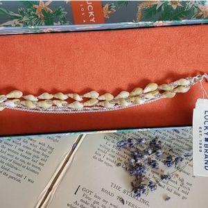 Lucky Brand Silver Bracelet Boho Chic NWT NIB